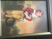 1800 painting of boy's with there pets Media, 19063