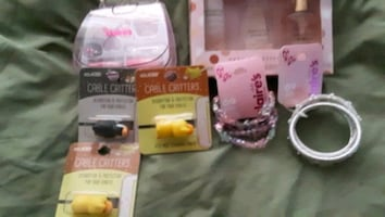 Bundle by claires USB protected make up bracelets