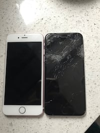 iPhone 6 64 GB cracked screen  Edmonton, T5P 4M5