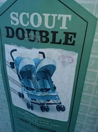 J is for Jeep double stroller