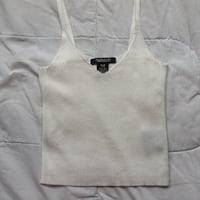 White Knitted Crop Top Winnipeg, R2L 0A6