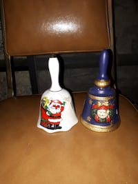 Christmas Bells 5 1/2 inches tall