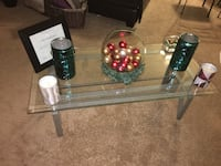 Coffee Table Set w/ 2 Matching End Tables (glass included)  District Heights, 20747