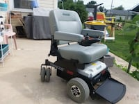 black and gray mobility scooter 443 mi