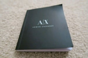 Armani Exchange Watch Manual Booklet