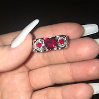 New ring red ruby in 925 sterling silver San Antonio, 78227