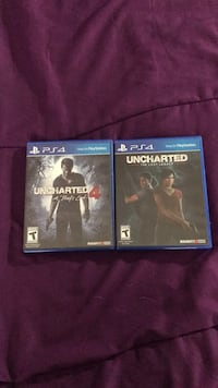 Uncharted 4 and uncharted the lost legacy for $27 (together)  -Pickup only 2263 mi
