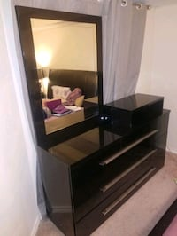 Dresser with mirror and detachable TV stand  Fairfax, 22033