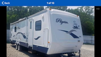 34' travel trailer