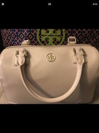 women's white leather tote bag Redlands, 92373