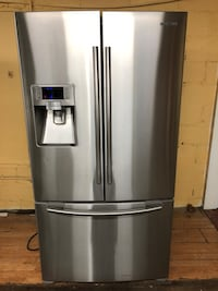 Samsung Stainless Steel French Door Refrigerator Lawrenceville, 30044