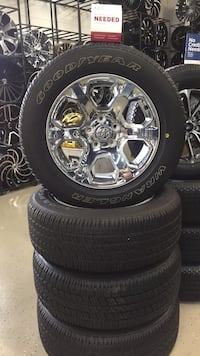 dodge ram wheels. good year tires  Sterling Heights, 48312