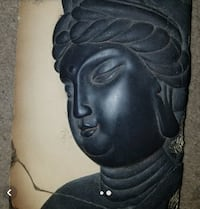 Buddha Wall Plaque with stand* Burke