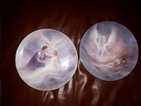 CERAMIC DECORATIVE PLATES THE HAMILTON COLLECTION PRESENTS ONCE UPON A DREAM AND THE DAWN OF ROMANCE Montréal