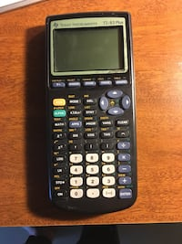 TI-83 Texas Instruments calculator.