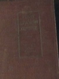 first spanih course (hardcover) 1917  Rockville