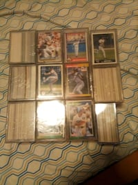 Baseball card football cards golf cards . Couple hundred