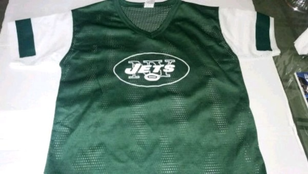 best service df0b1 85f73 new New York Jets jersey for kids medium