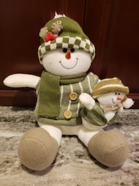 Sitting snowman- excellent condition new Leesburg