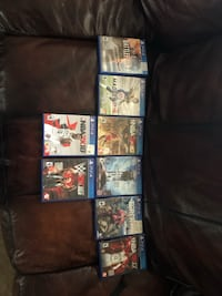 $10 a game (the madden case has madden 15 and 18) Memphis, 38128