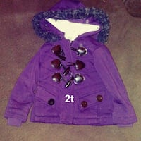 purple and black button-up jacket Rockford, 61104