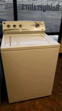 white top-load washing machine ( free delivery )