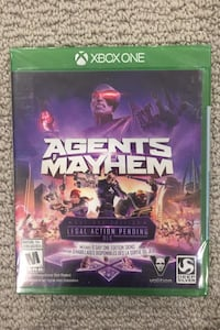 XBOX ONE Agents Mayhem