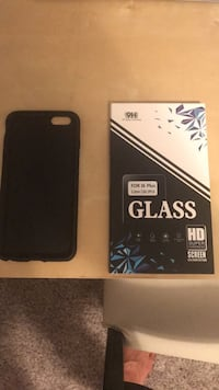 iPhone 6s Plus Phone Case and 2x New Clear Screen Protectors Austin, 78704