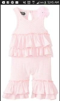 toddler's pink and white stripes jumpsuit screensh