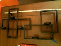 brown wooden wall mount rack St. Catharines, L2M 4G1