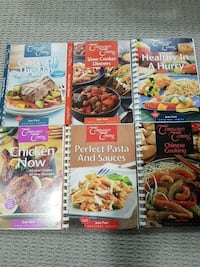 Company's coming cook books $3 each