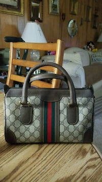 brown and gray Coach monogram tote bag San Antonio, 78227