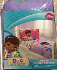 The Doc is In 4 Piece Doc McStuffins Toddler Bedding Set Richmond Hill, L4B