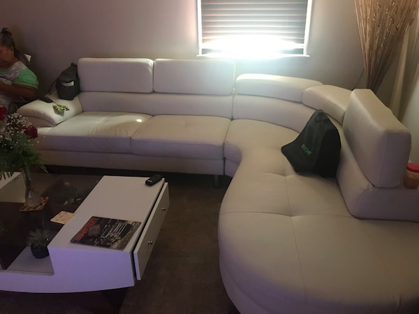 Wayfair Leather Couch Brand New Moving And Must Go As Soon Possible 2 000 Obo