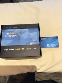 MAAX TV LN 6000N box