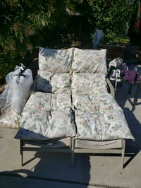Lawn chairs with extra cushion and cover Modesto, 95350
