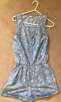 Girls romper Maple Ridge