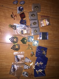 Bunch of Old Pins, Some Military Toronto, M4C 1T4