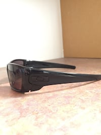 black framed Oakley sports sunglasses Richmond Hill