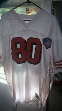 Jerry rice Mitchell n Ness throwback Bay Shore