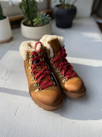 Sorel Ainsley Leather Hiking Boots