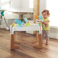 Exersaucer 2 in 1 Activity Center Art Table Toddler Baby Exercise Gleeful Sea  Cheney