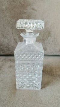 LIQUOR DECANTER CRYSTAL