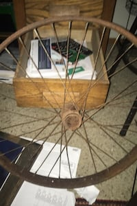 American belt drive motorcycle rims approximately 1911???