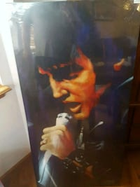 Elvis on canvas picture 727 mi