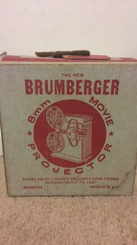 1950's brumberger movie projector South Amboy, 08879
