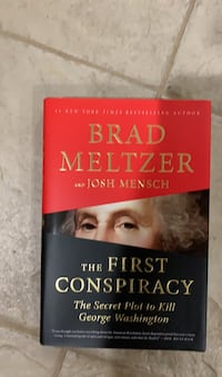 The First Conspiracy // Brad Meltzer (also autographed)