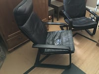 2 Great Identical Leather chairs and an extra