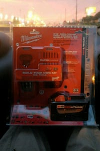 Milwaukee M18 9.0ah battery and rapid charger Huntsville, 35810