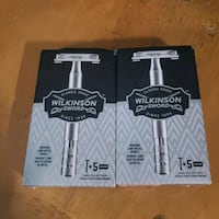Wilkinson Sword ×2 w/5 blades a pack Nanaimo, V9R 2T8